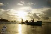 Surf boat Coolangatta