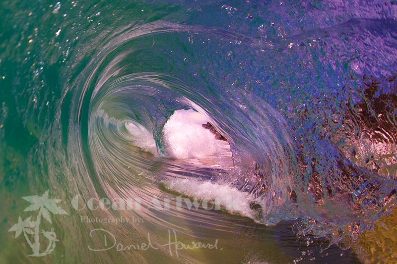 click here to browse through my Above water wave Art gallery Ocean Artwork