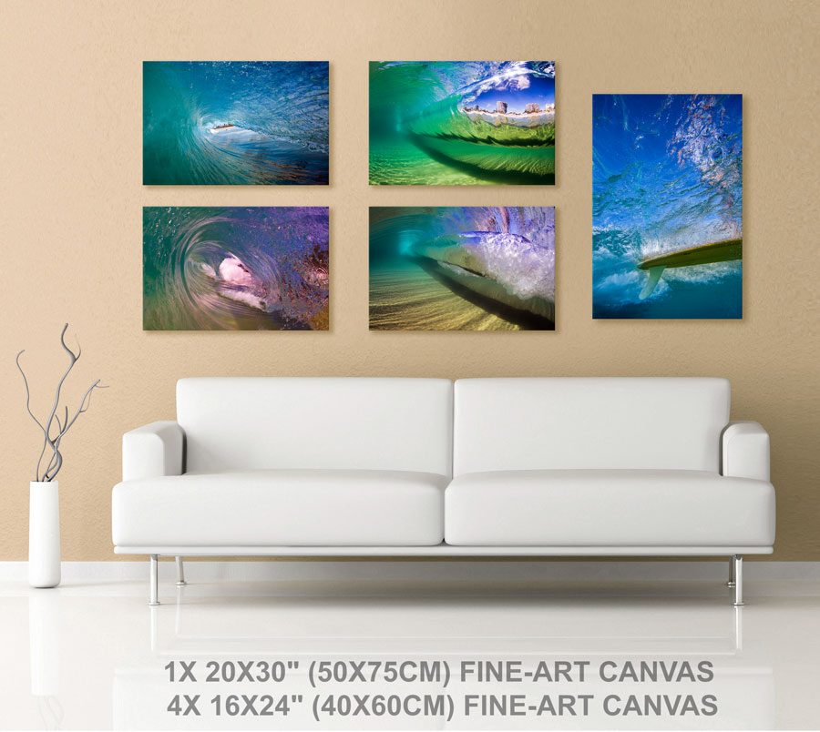 Five canvas special Sale